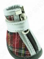 Обувь для собак DEZZIE «Шотландка»