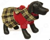Свитер-платье для собак DEZZIE «Шотландка»