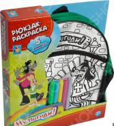 Набор для росписи 1 Toy «Рюкзак-раскраска: Ну, погоди!»