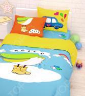 Детский комплект постельного белья Сирень «Привет Долли»