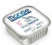 Корм консервированный для собак Monge Monoproteico Solo «Паштет из свинины»