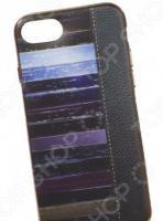 Чехол для телефона TPU для iPhone 8/7 «Кожа и краски»