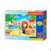 Пазл 40 элементов MAXI Castorland «Пиратские сокровища»