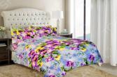 Комплект постельного белья «Анютины глазки». 2-спальный
