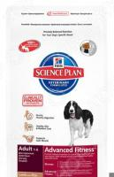 Корм сухой для собак Hill's Science Plan Advanced Fitness с ягненком и рисом