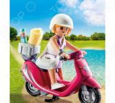 Конструктор игровой Playmobil «Экстра-набор: Посетитель пляжа со скутером»