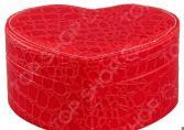 Шкатулка для украшений Elan Gallery «Сердечко красное»