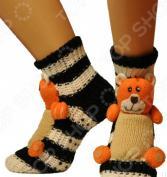 Носки с игрушкой HOBBY LINE «Медведь»