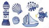 Форма для литья Rayher «Морские фигурки»