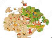 Игрушка-пазл WOODY «Чудесное дерево»