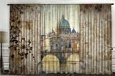 Комплект фотоштор с тюлем ТамиТекс «Античные фрески»