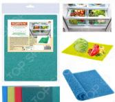Коврик антибактериальный для холодильника Мультидом МГ76-58. В ассортименте