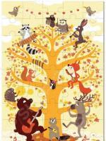Пазл 45 элементов Krooom «Лесные животные»