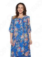 Платье Pretty Woman «Розетта». Цвет: васильковый