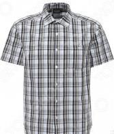 Рубашка Finn Flare S16-22010. Цвет: светло-серый