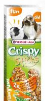 Лакомство для кроликов и морских свинок Versele-Laga Crispy «Палочки с морковью и петрушкой»