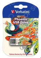 Флешка Verbatim Store 'n' Go Mini Tattoo Edition Phoenix 16Gb