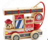 Конструктор деревянный Мир Деревянных Игрушек «Автомобиль 2»