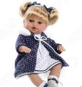 Кукла интерактивная Arias Elegance с соской в пальто