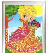 Мозаика из пайеток Азбука тойс «Принцесса»