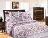 Комплект постельного белья Королевское Искушение с компаньоном «Констанция». Семейный