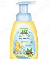 Гель для купания детский Babyline с мятой и солодкой