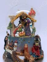 Снежный шар музыкальный Crystal Deco «Рождество» 1707560