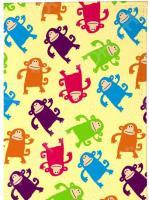 Визитница Mitya Veselkov «Смешные обезьянки»