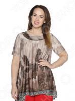 Блуза Лауме-Лайн «Великолепный век». Цвет: коричневый