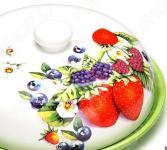 Блюдо для блинов Loraine LR-26407 «Ягоды»