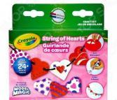 Набор для лепки из пластилина Crayola «Бусы из сердечек»