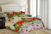 Комплект постельного белья «Клубничка». 1,5-спальный