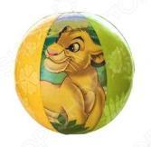 Мяч надувной Intex «Король Лев» 58052