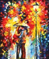 Набор для рисования по номерам «Белоснежка» Поцелуй под дождем
