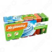 Набор губок для мытья посуды Хозяюшка «Мила: Комфорт». В ассортименте