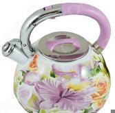 Чайник со свистком Mayer&Boch «Цветы»