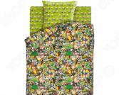 Детский комплект постельного белья Непоседа Emoji «Футбол»
