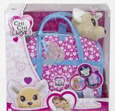 Мягкая игрушка Simba CHI CHI LOVE «Собачка-звёздный стиль с сумочкой»