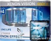 Комплект автоламп галогенных ClearLight XenonVision H4