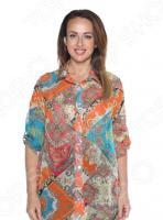 Рубашка «Цветная сказка». Цвет: оранжевый