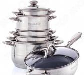 Набор посуды со сковородой «Идеальный выбор». 12 предметов
