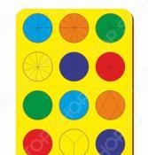 Игра развивающая WoodLand «Рамка-вкладыш: Дроби 12 кругов»