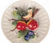Тарелка декоративная Lefard «Снегирь на яблоневой ветке» 59-056
