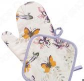 Набор: прихватка с рукавицей BONITA «Тропикана»