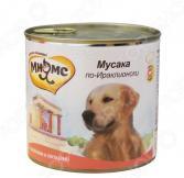 Корм консервированный для собак Мнямс «Мусака по-Ираклионски» с ягненком и овощами