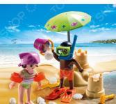 Конструктор игровой Playmobil «Экстра-набор: Дети на пляже»