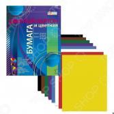 Набор: картон цветной и бумага цветная Бриз 1126-400