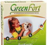Ошейник для собак мелких пород от эктопаразитов Green Fort G104