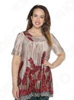 Блуза Лауме-Лайн «Великолепный век». Цвет: красный