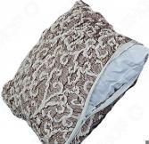 Натяжной чехол на подушку Еврочехол «Жаккард. Волны»